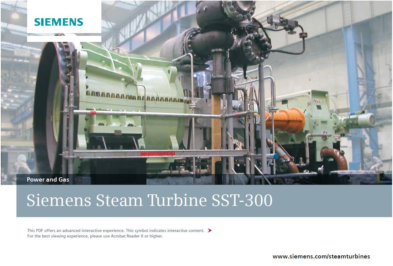 Siemens Steam Turbine SST-300